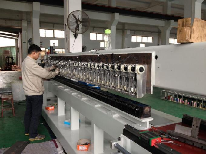 3.2M Bed Sheet Quilting Embroidery Machine For Process Different Materials