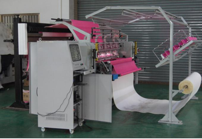 1.6 Meters Duvet Single Head Quilting Machine Low Maintenance 3.5KW Rating Power
