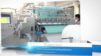 China Computerized Industrial Multi Needle Quilting Machine 64 Inches Lockstitch supplier