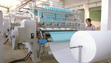 China Extra Thickness High Speed Quilting Machine Two Needle Row For Horse Saddle supplier