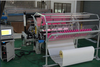 China 1.6 Meters Duvet Single Head Quilting Machine Low Maintenance 3.5KW Rating Power supplier