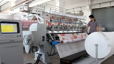 China Duvet Multi Needle Quilting Machine , Industrial Heavy Duty Sewing Machine supplier