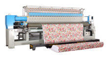 China 3.2M Bed Sheet Quilting Embroidery Machine For Process Different Materials supplier