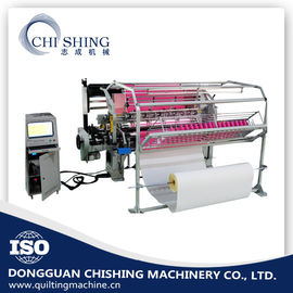 "China Three Needle Bar 64"" Industrial Computerized Quilting Machine Shuttle Type supplier"