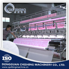 China 110 Inches Computerized Quilting Machine 3.5 KW Rating Power , 200-500 RPM Speed supplier