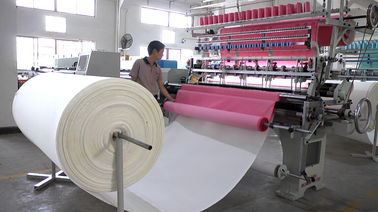 China Commercial 76 Inch Automatic Quilting Machine 1.6 Meters For Car Cushion Protectors supplier