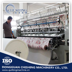 China 3.5kw Automatic Quilting Machine , Sewing And Quilting Machine 12 Inch Stroke supplier