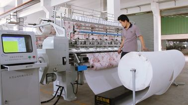 China Transportable Mattress Quilting Machine, Automatic Sewing Machine For Upholstery supplier