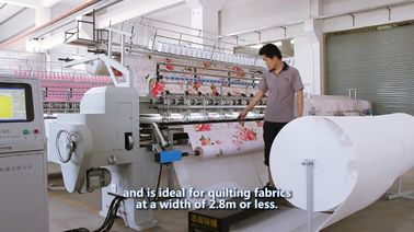 China Textile Single Head Quilting Machine For Air Conditioning Quilt , 2.8m Quilting Width supplier