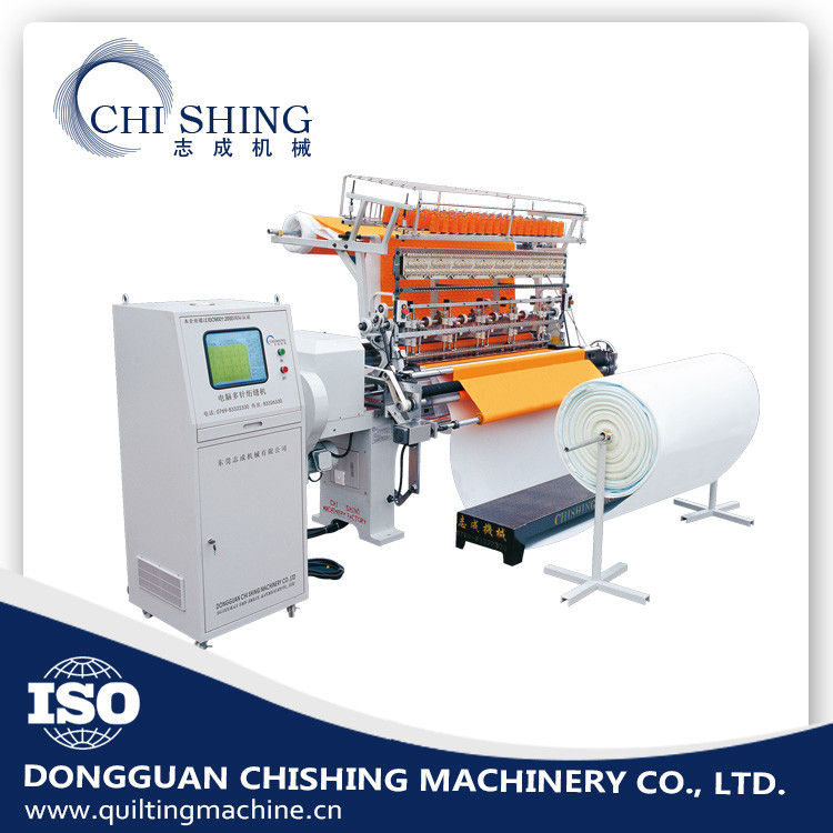 China Two Needle Computerized Quilting Machine  6 Meters Jacket Sewing Machine Supplier