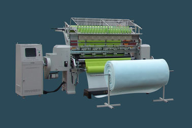 800 Rpm / h Digital Control Industrial Quilting Machine Three Needle Bar 380v 3.5kw Power