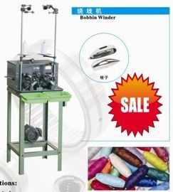 Wire Sewing Pirn Bobbin Winding Machine Two Spindles For Suitcases , Garments