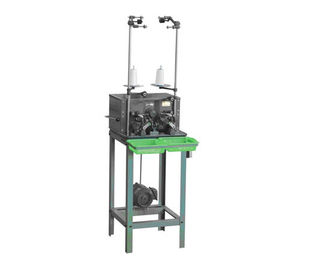 Single Bobbin Winding Machine , Multi Strand Polyester Filament Yarn Bobbin Winder