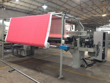 Industrial Fabric Cotton Automatic Rolling Machine device 200 W 15 M/Min Roll Speed